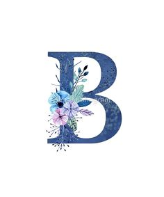 Monogram B Icy Winter Bouquet by floralmonogram wallpaper h letter 'Monogram B Icy Winter Bouquet' by floralmonogram Monogram Wallpaper, Alphabet Wallpaper, Winter Bouquet, Sunflower Wallpaper, Letter B, Alphabet And Numbers, Wedding Invitation Cards, Monogram Letters, Cute Wallpapers
