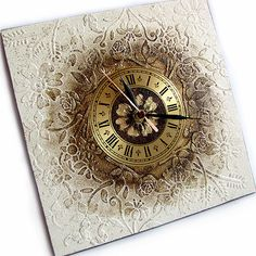1 million+ Stunning Free Images to Use Anywhere Clock Craft, Diy Clock, Clock Painting, Sculpture Painting, Decoupage Box, Decoupage Vintage, Wall Clock Vector, Friedrich Schiller, Homemade Art