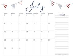 Free Printable Calendars - Month to Month