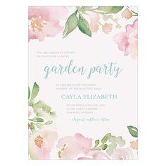 Garden Party Invitation - Weddingstar