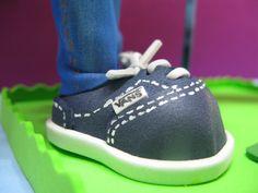 Zapatos tipo VANS en azul marino.