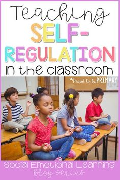 Ideas for teaching kids to self-regulate in the classroom and develop self-control and self-esteem. Teach children to manage their emotions and behaviors with calming strategies, such as a calming down kit, yoga, and brain breaks. #selfregulation #calmdownstrategies #selfcontrol #classroommanagement #socialemotionallearning Character Education Lessons, Social Skills Lessons, Teaching Social Skills, Social Emotional Learning, Student Teaching, Teaching Kids, Life Skills, Music Education, Health Education