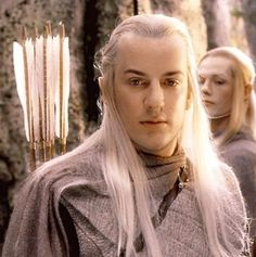 """Craig Parker - Haldir, at the battle of Helm's Deep : """"An Alliance once existed between Elves and Men. Long ago we fought and died together. We come to honor that allegiance."""""""
