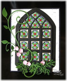 ~ Faux Stained Glass ~