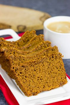 Ontbijtkoek is a traditional Dutch spice cake, and it's a wonderful treat when served with a hot cup of coffee! Baking Recipes, Dessert Recipes, Friend Recipe, Good Food, Yummy Food, Spice Cake, Breakfast Cake, Holiday Baking, Desert Recipes