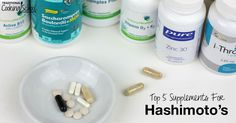 If your health is affected by thyroid disease, consider these top 5 supplements for Hashimoto's alongside a healing diet.