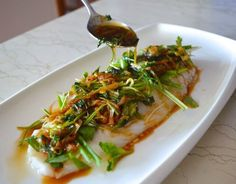 This Cantonese steamed fish is a traditional and simple dish that's often served as one of the final courses in a traditional Chinese wedding banquet right before the last rice and the noodle course. But it's also a dish that can be found on a lot of home dinner tables. That's when you know it's not just easy, it's good.