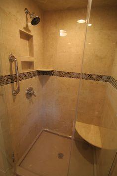 Large tiled walk in shower   3 Day Kitchen & Bath