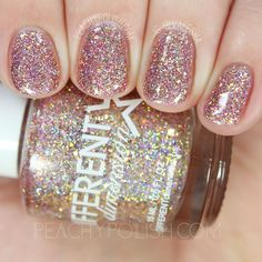 Different Dimension Topaz 2.0 | Let Them Eat Glitter: YWP Collab | Peachy Polish