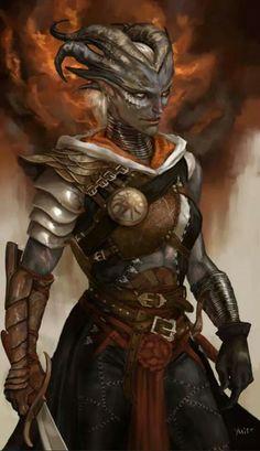 Dragon Age Illustration by Ymirr Dark Fantasy, 3d Fantasy, Fantasy Warrior, Fantasy Artwork, Fantasy Samurai, Character Concept, Character Art, Concept Art, Dragon Age Inquisition