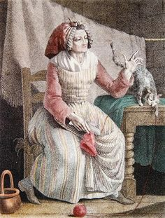 18thcenturylove:  charlottecorday:  mdmeguillotine:  Madame Sans Culotte, 1789.    (via aethyta)