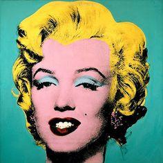 Marilyn Monroe by Andy Wharol.