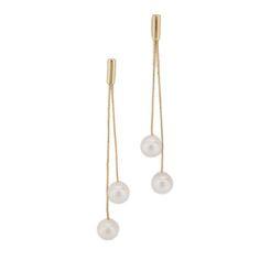 Kenneth Jay Lane pearl earrings