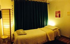 Reiki room at SpiritWise Reiki Room, Curtains, Bed, Furniture, Home Decor, Insulated Curtains, Homemade Home Decor, Blinds, Stream Bed