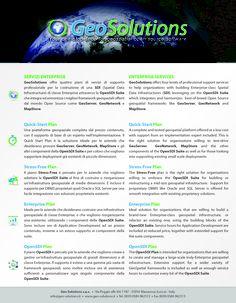 OpenSDI Enterprise Service - Front Page