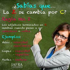 Z to c spelling changes, veloz, feroz velocidad, ferocidad....#ortografia #redessociales