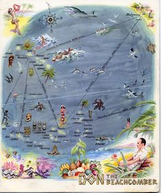 The world according to Don the Beachcomber - 1941.