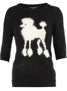 poodle sweater ~ LOVE IT! Posted by Redlandspoodles.com