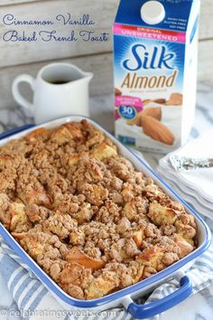 Cinnamon Vanilla Baked French Toast - An easy make-ahead french toast ...