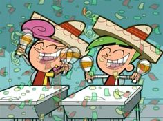 Discover & share this Cinco De Mayo GIF with everyone you know. GIPHY is how you search, share, discover, and create GIFs. Cosmo Und Wanda, Congratulations Gif, Inspirational Life Lessons, The Fairly Oddparents, Fairly Odd Parents, Fanart, Odd Couples, Fan Art