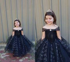 black princess tutu dress tutu dress by FunkidsandUsBoutique