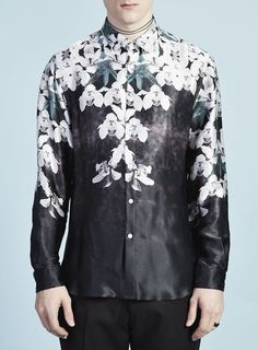 TMD (Topman Design) ORCHID PLACEMENT SHIRT