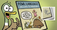 "--THIS GIVEAWAY HAS ENDED-- We're giving our readers a chance to win their very own copy of ""Fowl Language: Welcome to Parenting,"" the very first Fowl Language collection from our publishing division. Enter @ http://blogs.gocomics.com/2016/03/giveaway-fowl-language-welcome-to-parenting.html?utm_source=pinterest&utm_medium=socialmarketing=utm_content=giveawayfowllanguagewelcometoparenting-giveaway&utm_campaign=social 