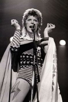 David Bowie first introduced his glorious alter ego Ziggy Stardust.