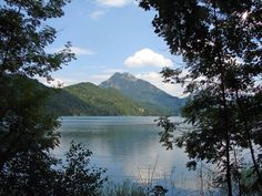 Walk round Fuschlsee in Austria, good path and beautiful.