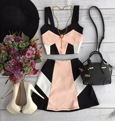 New Clothes For Women Outfits Crop Tops Ideas Cute Dresses, Casual Dresses, Casual Outfits, Summer Outfits, Mode Outfits, Girl Outfits, Fashion Outfits, Fashion Clothes, Fashion Trends