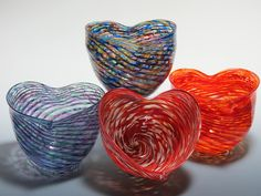 New Heart Bowls for your sweetheart!!! Just in time for Valentine's Day or any time you are in the mood ♥ ♥ ♥  6″x 6 1/2″x 5″ deep