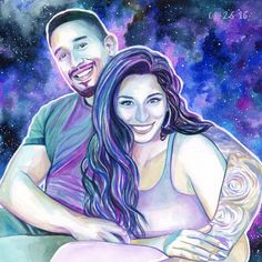 CUSTOM COUPLES PORTRAIT painting, Wife to husband Christmas gift, Romantic gifts for him, Christmas gifts for husband, Unique gifts for men Husband gift ideas One Year Anniversary Gifts, Boyfriend Anniversary Gifts, Birthday Gifts For Boyfriend, Boyfriend Gifts, Boyfriend Ideas, Gifts For Engaged Friend, Gifts For Fiance, Christmas Gifts For Husband, Christmas Christmas