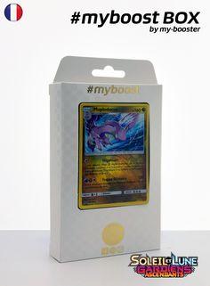 Coffret #myboost MUPLODOCUS 96/145 Contient 10 cartes Pokemon francaises Soleil et Lune 2 neuves dont : - la carte MUPLODOCUS holo reverse 96/145 160PV de la serie Soleil&Lune 2 - 1 carte Holographique ou Reverse - 1 carte 100PV - 1 carte 90PV - 1 carte 80PV my-booster, l offre POKEMON PREMIUM
