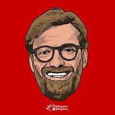 Pop Art Design, Liverpool Fc, Football Soccer, Illustration, Artwork, Red, Work Of Art, Auguste Rodin Artwork, Illustrations