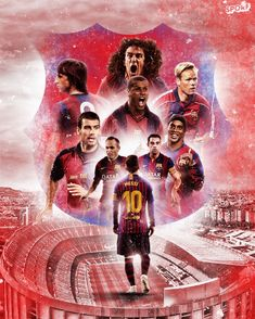 #barce# #fc barce# #fc barcelona# #bóng đá# #thể thao# #wallpaper# #camp nou# #messi# #Ronaldinho# #football# #old barcelona# Fc Barcelona, Lionel Messi Wallpapers, Messi 10, Happy Birthday, Camp Nou, Football, Stars, Movie Posters, Movies
