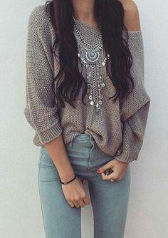 542610fbfb08 That sweater tho! Boho Autumn Fashion