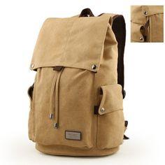 811d9ad539d8 MANFITER New Mens Canvas Backpack Travel Schoolbag Male Backpack Men Large  Capacity Rucksack Shoulder School Bag Mochila Escolar