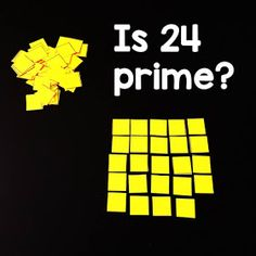 If your students struggle with the idea of prime vs. composite numbers, this hands-on investigation activity into prime numbers may be helpful, especially to the kinesthetic learners in your classroom. Prime And Composite Numbers, Prime Numbers, Number Activities, Number Worksheets, Math Games, Teaching Math, Maths, Teaching Tools, Factors And Multiples