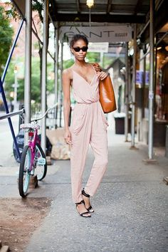 The jumpsuit done just right.