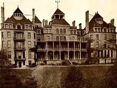 Crescent Hotel, Eureka Springs, Arkansas  Take a day to tour the Crescent Hotel and Onyx Caves!