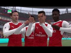 fea6cb87a Fifa 17 (Fifa 2017) Oyunu  Arsenal-Manchester United Maçı - YouTube