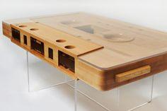 Audiocassette Table