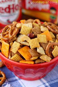 Sweet and Spicy Chex Mix - Your Cup of Cake