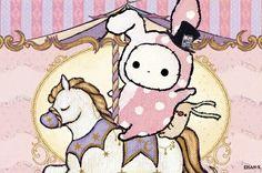 Sentimental Circus Sentimental Circus, Day Designer, Molang, Circus Party, Sanrio, Pokemon, Snoopy, Kawaii, Wallpaper