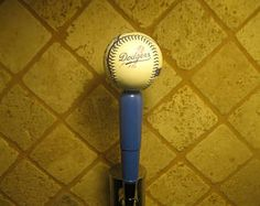 Los Angeles Dodgers Beer Tap Kegerator Handle Throwback Baseball Bar Sports Brew Series New MLB Man Cave Home Bar -    Edit Listing  - Etsy