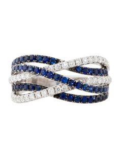Sapphire and Diamond Ring - Fine Jewelry - FJR21181 | The RealReal