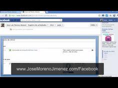 http://www.JoseMorenoJimenez.com/facebook Como ocultar la actividad reciente de nuestro perfil de Facebook (timeline o biografía)