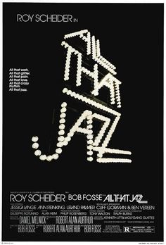 "MP357. ""All that Jazz"" Movie Poster by Steve Frankfurt (Bob Fosse 1979) / #Movieposter"