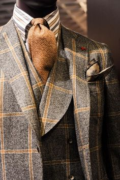 A bold and exciting plaid is always a character booster.