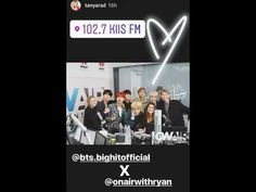 BTS' 4TH DAY IN LA! ❤ (BTS' 4th Day In LA! Today they appeared on, On Air With Ryan Seacrest, rehearsed for the AMAs and to celebrate their first U.S. TV performance at the AMAs this sunday there are #BTSxAMAs pins and patches available at: shopamas.com 171117) #BTS #방탄소년단